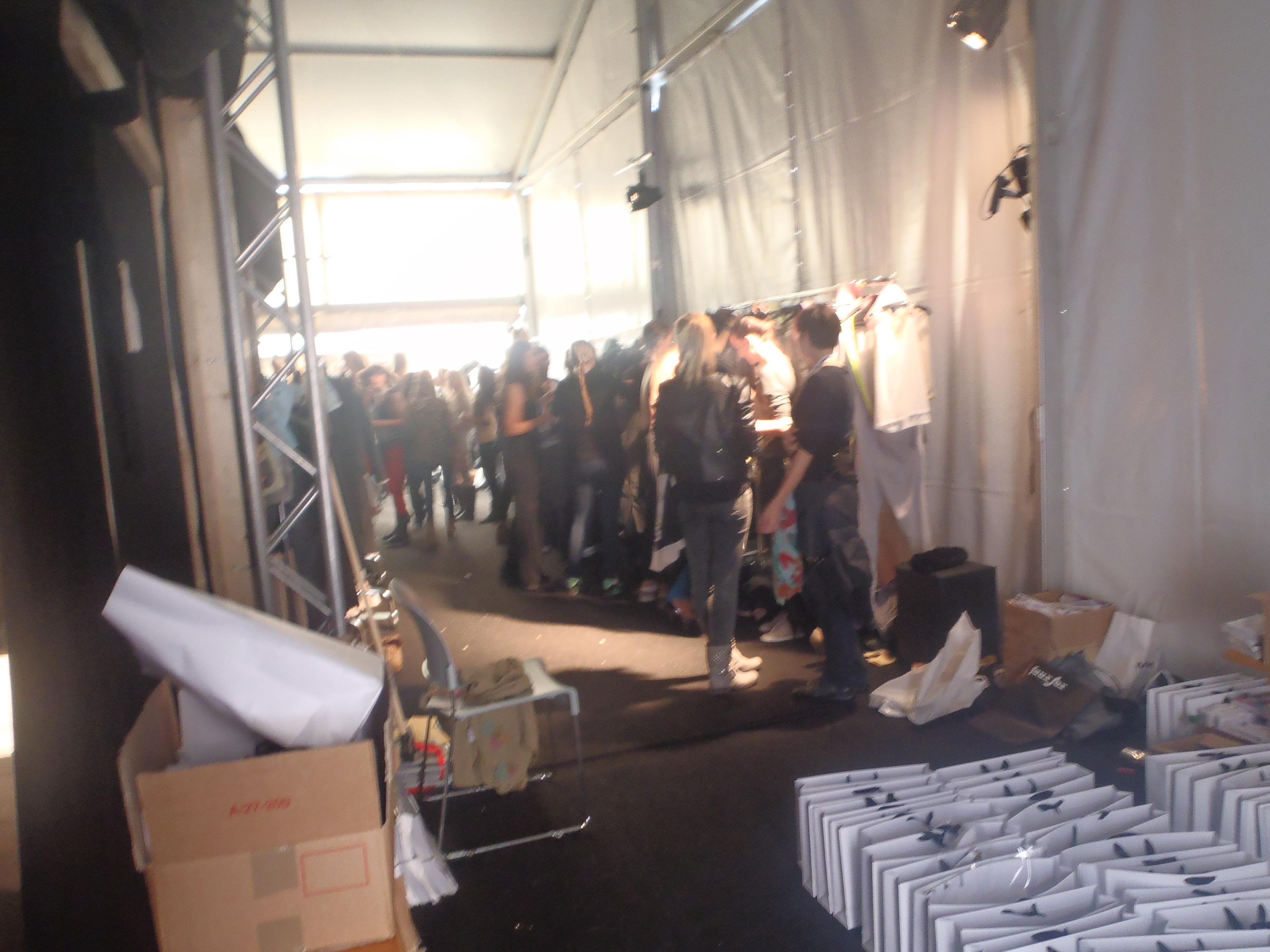 vienna fashion week backstage