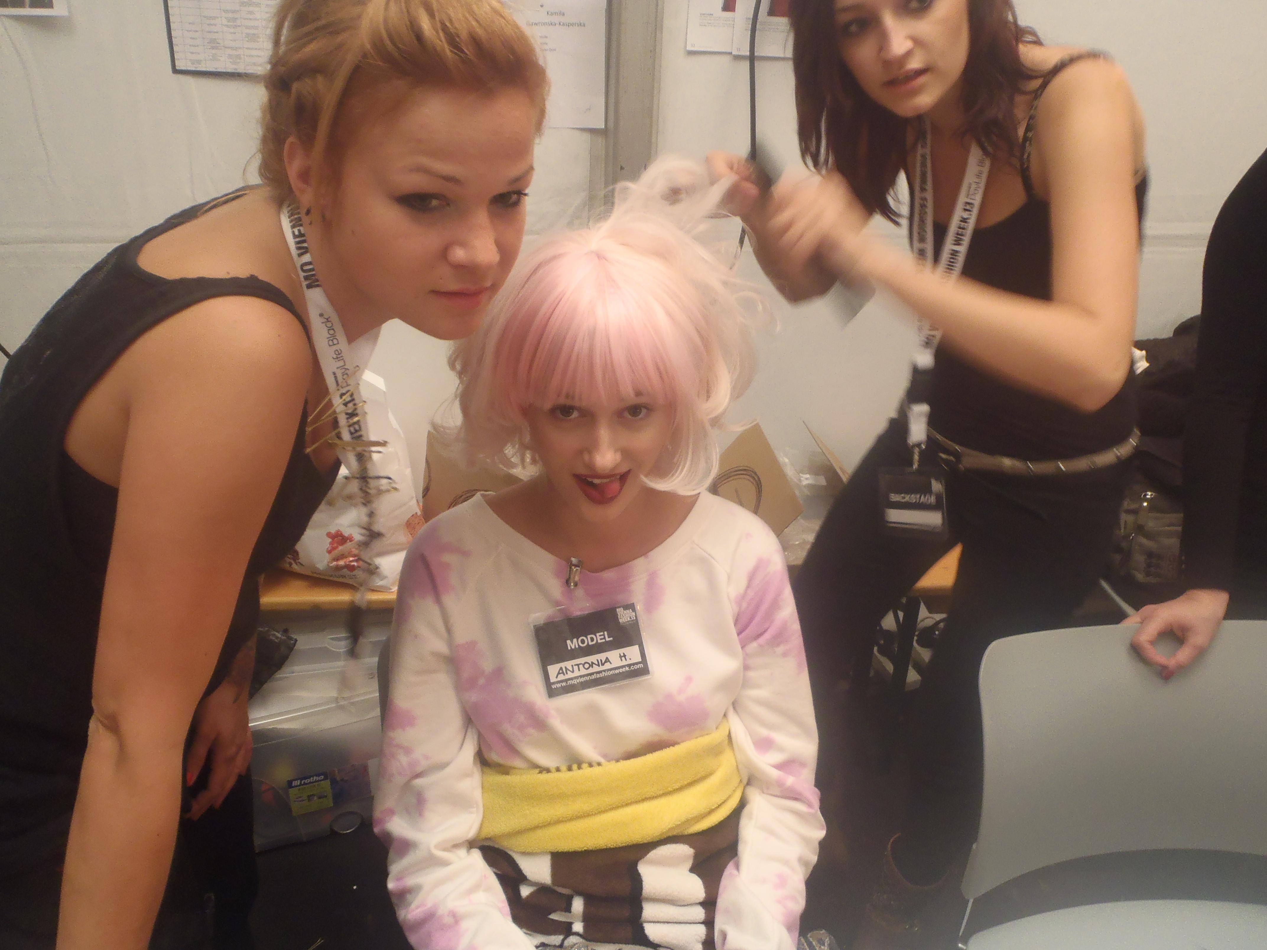 vienna fashion week backstage rozbora